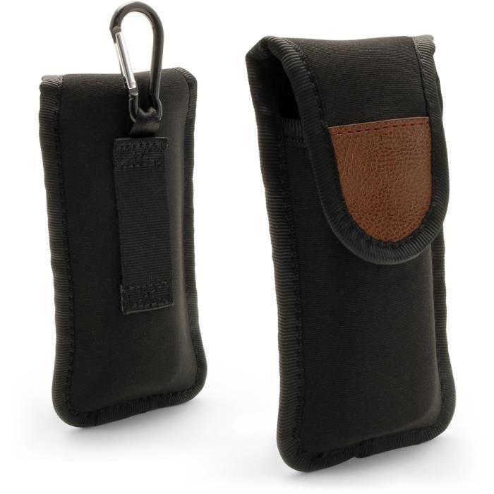 igadgitz Noir Housse Pochette Neoprene Case pour Leatherman Wingman / Wave / Rebar / Sidekick Pince Multifonction