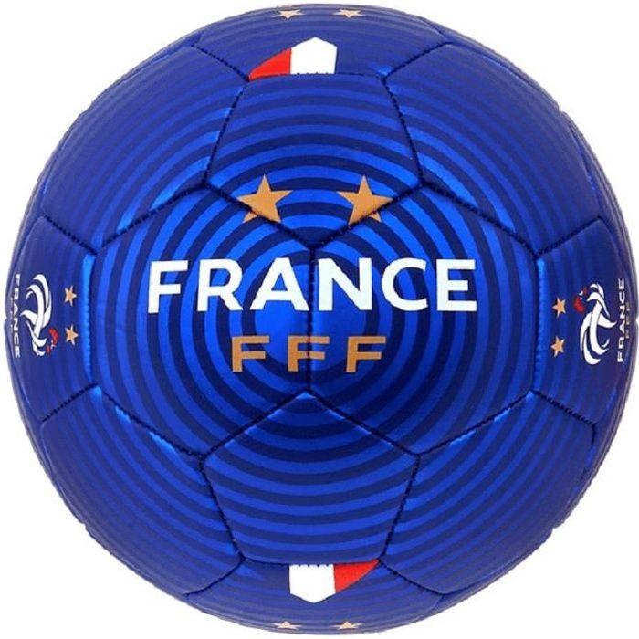 FFF Ballon de football -Jersey Domicile- Licence Officielle FFF - T5