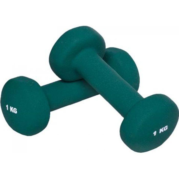 Gorilla Sports 2 KG (2x1,0) Haltères fitness en…