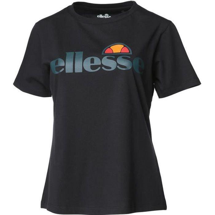 ELLESSE T-shirt manches courtes BELLATRIX - Femme - Noir
