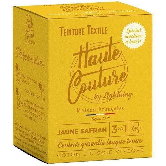 Teinture textile haute couture jaune safran 350g