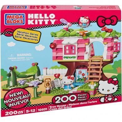 La Maison dans l'arbre Hello Kitty Megablocks