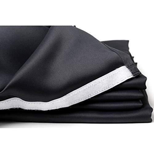 Moondream Doublure Occultante Fixation par Bande Scratch Noir 240 x 135 cm