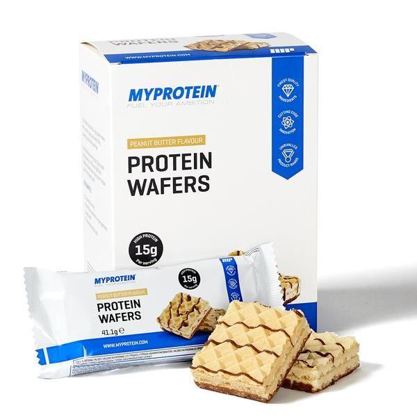 Protein Wafers, Vanilla, 10x40 - MyProtein