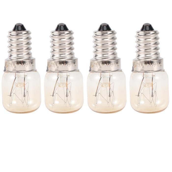 4 pièces four à micro-ondes ampoule grille-pain 15 W E14 à cuisinière hotte lampe pour la cuisine à domicile MICRO-ONDES