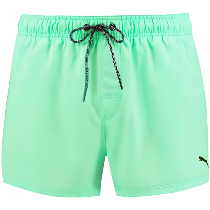 Puma Swim Men, Short de Bain -Short Length Swim- Mint