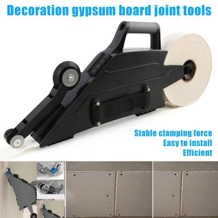 Outil de calfeutrage de cloison sèche Outil de rubanage pour murs de cloisons sèches opération multifonction droite / gauche