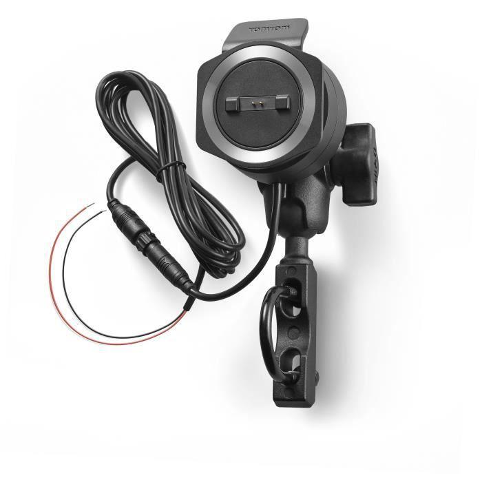 TOMTOM - Accessoire pour RIDER SERIE 40/400 - Kit de fixation avec d'alimentation pour moto