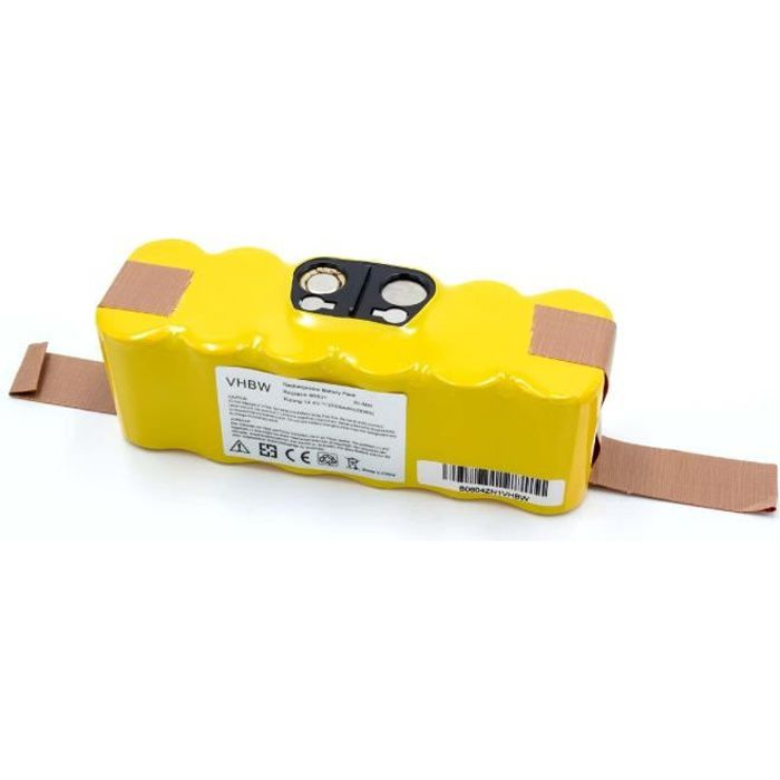 vhbw NiMH batterie 2000mAh pour robot aspirateur iRobot Roomba 615, 616, 620, 621, 625, 630