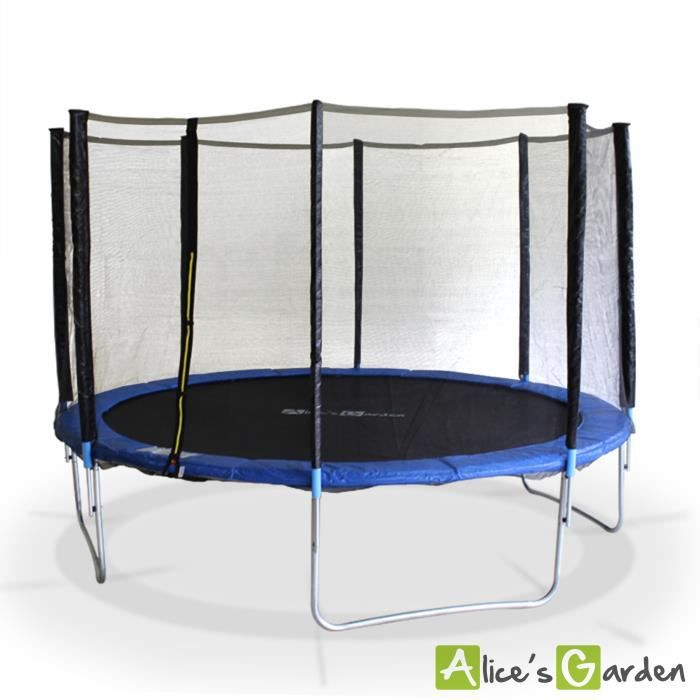 trampoline 430cm de diam tre venus filet achat vente. Black Bedroom Furniture Sets. Home Design Ideas