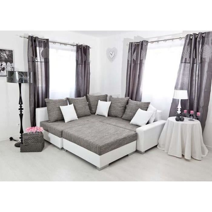 canap d 39 angle gauche modulable tissu sonia achat. Black Bedroom Furniture Sets. Home Design Ideas