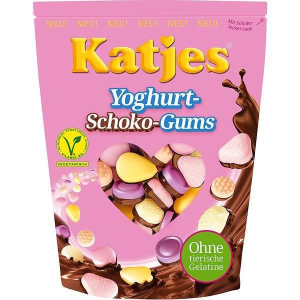 CONFISERIE DE SUCRE Katjes Yaourt Gums Chocolate 5 x 175g