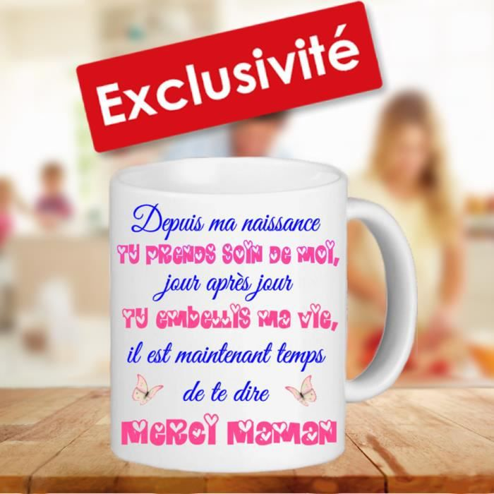 mug tasse sp cial maman id e cadeau f te des m res anniversaire achat vente bol mug. Black Bedroom Furniture Sets. Home Design Ideas