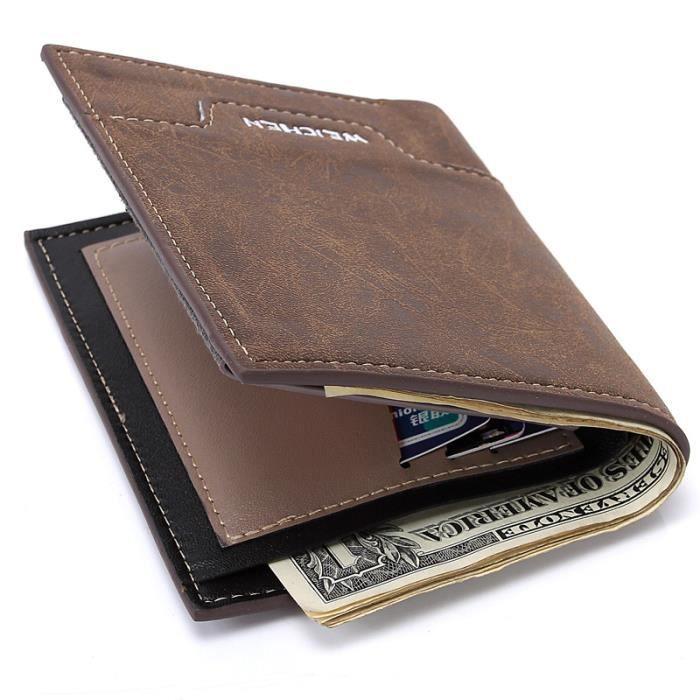 Samsonite ATTACK carré Wallet with Flap Porte-monnaie Portefeuille Noir NEUF