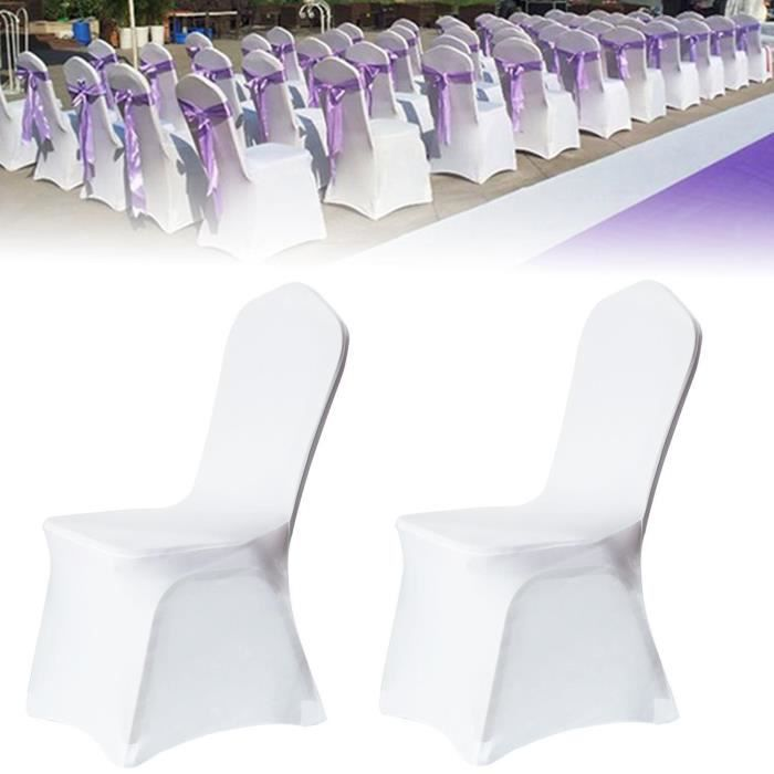 Lot de housse de chaise mariage - Achat / Vente pas cher