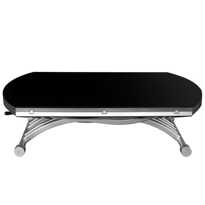 Table basse a rallonge et pliable table de lit a roulettes for Table salon pliable