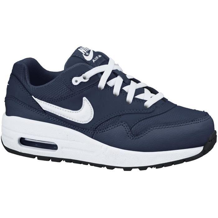Nike Air Max 1 Jeunes Enfants (PS) - 609370-405 Bleu Bleu ...