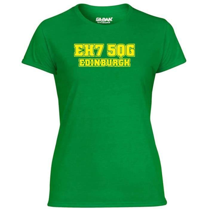T-SHIRT T-shirt Femme WC1211 hibernian-postcode-tshirt des