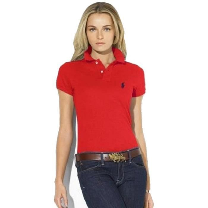 Ralph Lauren Polo Skinny Polo Pour Femme