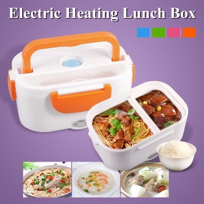 Portable Car Plug chauffage électrique Boîte Déjeuner Repas Chauffage Dîner Food Container