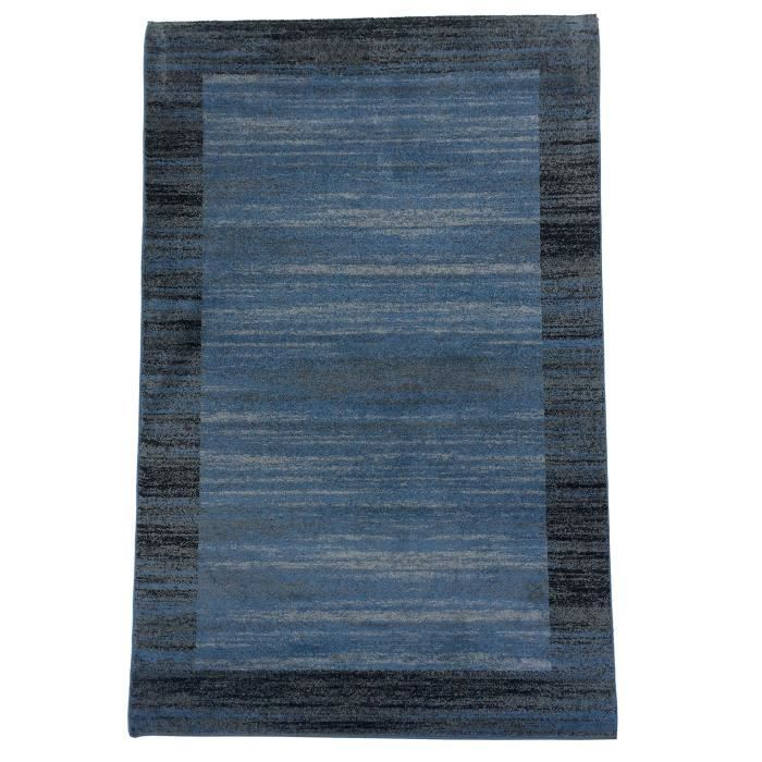 tapis moderne loribaft duzlen bleu 200x290 pa achat vente tapis cdiscount. Black Bedroom Furniture Sets. Home Design Ideas