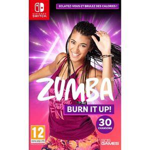 JEU NINTENDO SWITCH Zumba Burn It Up Jeu Switch