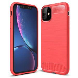 COQUE - BUMPER Pour iPhone 11 Coque - Souple Silicone Antichoc Lé