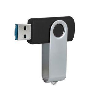 CLÉ USB 1 GB Pivotant USB 2.0 OTG Métal Mémoire Flash Stic