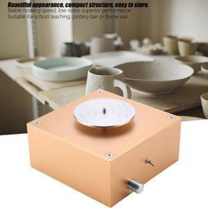 argile professionnelle 100-240V faisant la machine de poterie C/éramique bricolage artisanat pour enfants argile recharge d/ébutants adultes outils de porcelaine #1 Roue de poterie en c/éramique