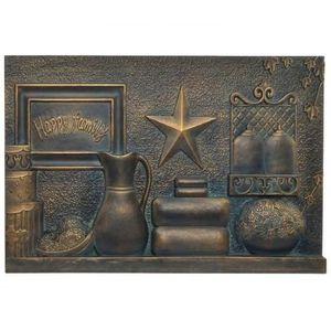 TABLEAU - TOILE Décoration murale tableau cadre métal Objets Maiso