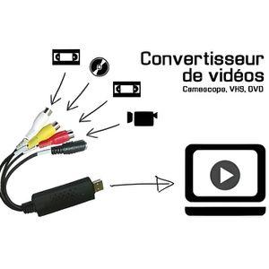 REPARTITEUR TV Convertisseur VHS