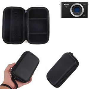 1x K-S-Trade/® pour Sony Alpha 6000 Sac Appareil Photo Reflex Saccoche /Étui Pouchette Gadget Anti-Choc DSLR SLR Cam/éra Protection Housse Antichoc Noir