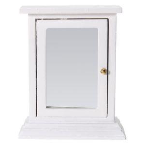 MAISON POUPÉE Miniature Maison Poupée Meuble Miroir Placard Barb