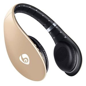 CASQUE - ÉCOUTEURS OVLENG S66 Casque Bluetooth Sans Fil Audio Stéréo