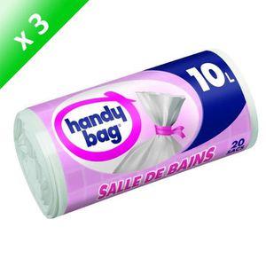 SAC POUBELLE HANDY BAG Sacs poubelles Salle de bain - 20 pièces