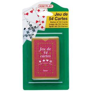 CARTES DE JEU Jeu de 54 cartes