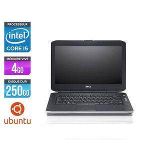 PC RECONDITIONNÉ Pc portable Dell E5430 - i5 - 4Go - 250Go HDD - Ub