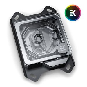 VENTILATION  EK Water Blocks EK-Velocity AMD RGB - Nickel + Ple