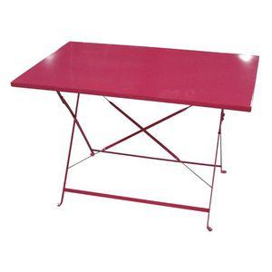 Table de jardin Rose - Achat / Vente Table de jardin Rose ...