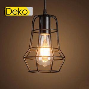 PLAFONNIER iDeko® Lampe de Salon à suspension Art design de F