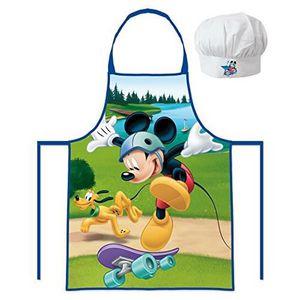 Bavoir à manche Bébé Enfant Waterproof enfant Neuf emballé Bleu Mickey