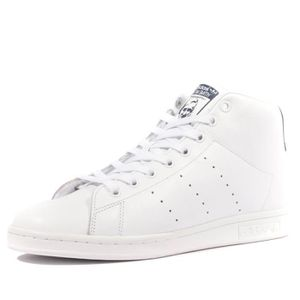 BASKET Stan Smith Mid Homme Chaussures Blanc Adidas