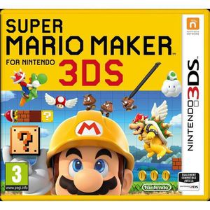 JEU 3DS Super Mario Maker Jeu 3DS+ 1 Carte Mario Collector