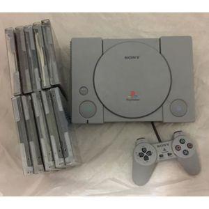 CONSOLE PS1 console playstation 1 + 10 jeux