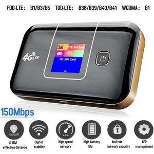 MODEM - ROUTEUR TEMPSA LTE 4G Routeur Wifi Hotspot Modem LED 150Mb