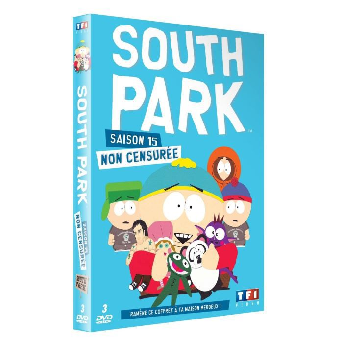dvd coffret south park saison 15 en dvd s rie pas cher. Black Bedroom Furniture Sets. Home Design Ideas