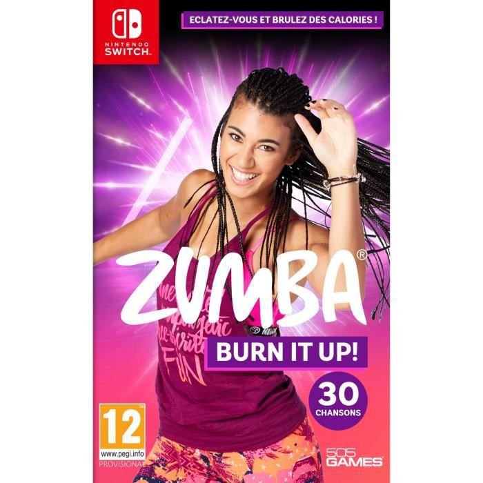 Zumba Burn It Up Jeu Switch