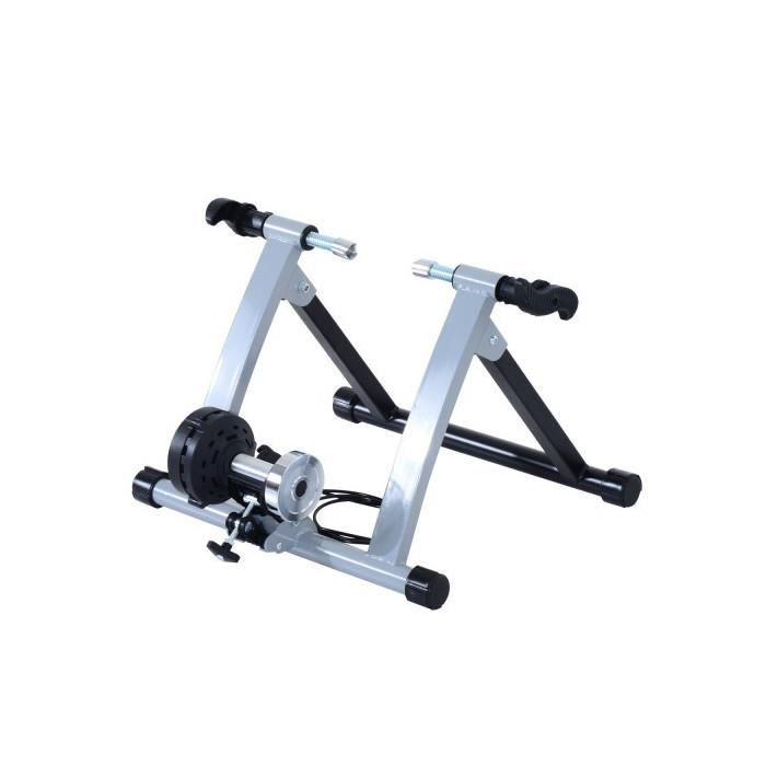 Support vélo home trainer Poisson argent