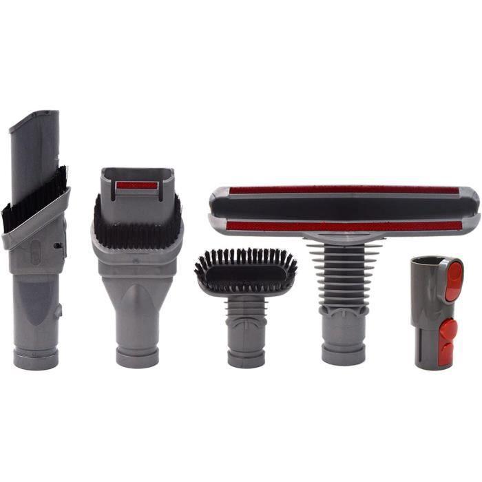 Brosse Kit Accessoires pour Dyson V8 V7 V6 V10 SV10 SV11 Aspirateur avec Adaptateur,Total Clean Pièces pour Dyson V6 DC45 DC35 DC52