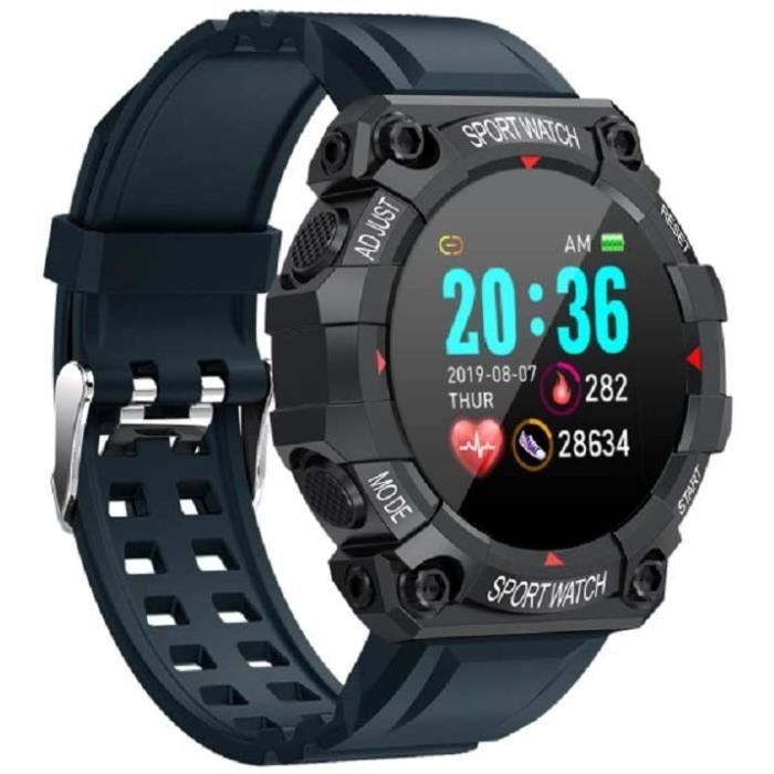 MONTRE SPORT FD68 Smart Watch Fitness Tracker avec Moniteur de fr&eacutequence Cardiaque, Tracker dactivit&eacute avec Compteu829
